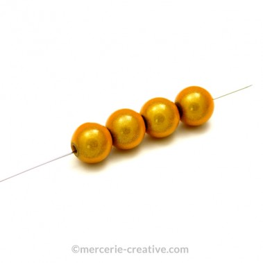 Perles magiques 10 mm doré