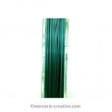 Crinelle fil cablé bleu capri 0.45 mm x1M