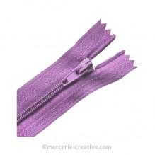 Fermeture à glissière parme - 19,5 cm