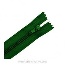 Fermeture à glissière vert - 19,5 cm