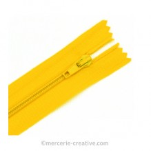 Fermeture à glissière jaune soleil - 19,5 cm