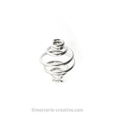 Perle spirale 8mm