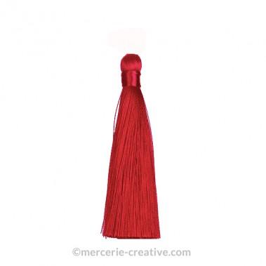 Pompon long bordeeaux 12 cm x1