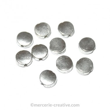 Intercalaire métal 6 mm x10