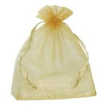 Sac organza Or X1