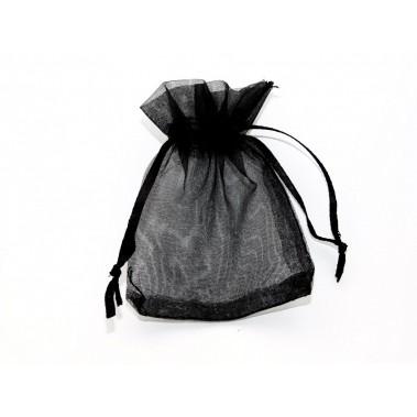 Sachet organza noir