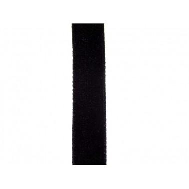 Ruban velours noir 10mm