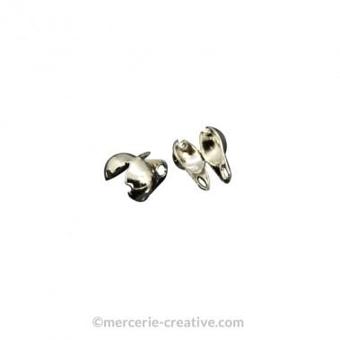 Cache-noeuds vieil argent 3mm x4