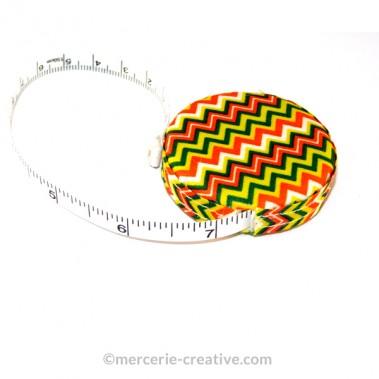 Mètre ruban de couturière rolling multi couleurs